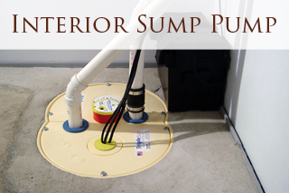 Intereior Sump Pump Installation